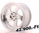 Japan Racing JR15, 5x15, ET20, 4x100/108, Machined Silver 15 Coll-os alufelni