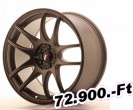 Japan Racing JR29, 9.5x18, 5x100/120, ET35, matt bronz 18 coll-os alufelni
