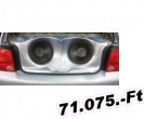Lester Vw, Volkswagen Polo 6N, 1994-1999-ig subwoofer panel